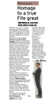 Stuart Adamson book review - Fife Free Press